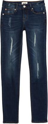 Hudson Jeans Kids Dolly Distressed Skinny Jeans