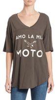 Wildfox Couture Amo La Mia Moto T-Shirt