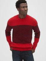 Breton Stripe Crewneck Sweater