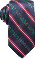 Club Room Men's Holiday Stripe Silk Tie, Created for Macy's