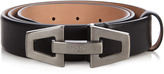 Tod's Fibbia clamp-buckle leather belt