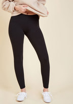 ModCloth Simple and Sleek Leggings in Black in XL