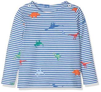 Joules Baby Boys' Harbour Print Longsleeve T-Shirt,Months (Size:18-24)