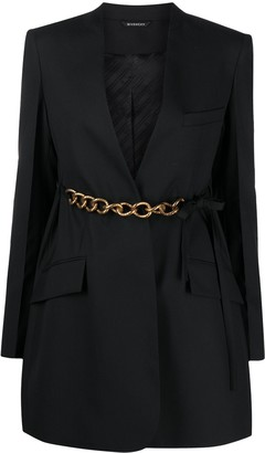 Givenchy Belted Chain Blazer Jacket