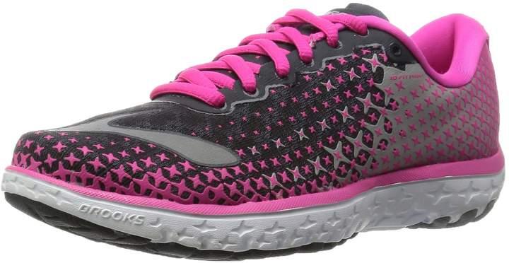 Brooks PureFlow 5 Women US 6.5 Gray Running Shoe