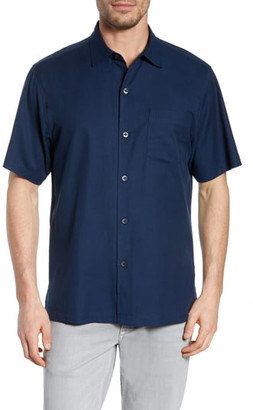 Tommy Bahama Catalina Stretch Silk Blend Camp Shirt