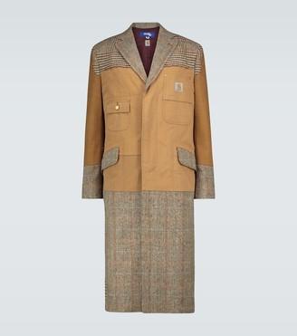 Junya Watanabe x Carhartt patchwork coat