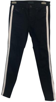 Diesel Black Gold Black Cotton - elasthane Jeans for Women