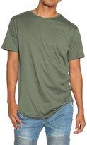TheMogan Men's Eptm Original Extended Long Curved hem T-Shirt Tee