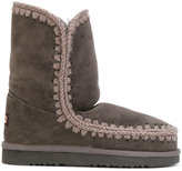 Mou Eskimo boots - women - Cotton/Sheep Skin/Shearling/rubber - 36