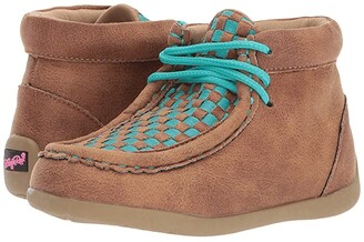 M&F Western Kids Cassidy (Toddler/Little Kid) (Brown/Blue) Boys Shoes