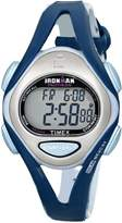 Timex Women's T5K451 Ironman Sleek 50 Mid-Size Resin Strap Watch