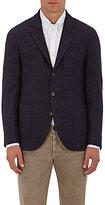 Brunello Cucinelli Men's Wool-Cashmere Two-Button Sportcoat-PURPLE