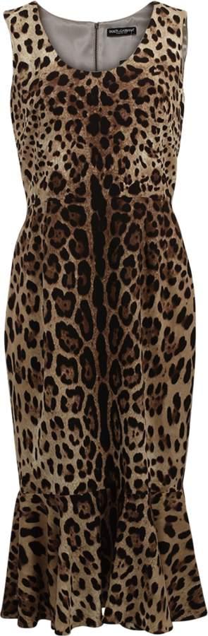 Dolce & Gabbana Flounce Bottom Dress