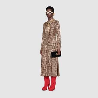 Gucci G rhombus print dress