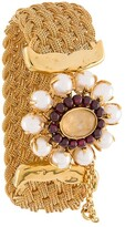 Goossens Perle Baroque braided bracelet