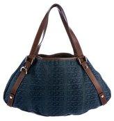 Gucci GG Denim Abbey Bag