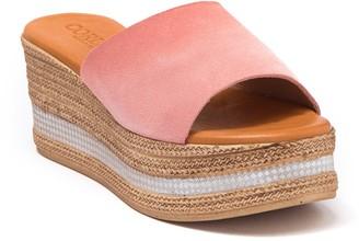 Cordani Barbara Espadrille Platform Slide Sandal