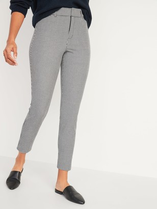 Old Navy High-Waisted Patterned Pixie Ankle Pants for Women
