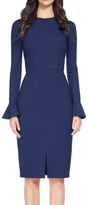 David Meister Long Sleeve Dress