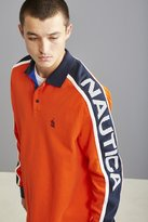Nautica Jersey Long Sleeve Polo Shirt