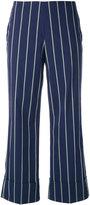 Fay pinstripe trousers - women - Cotton/Polyamide/Spandex/Elastane - 38