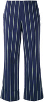 Fay pinstripe trousers