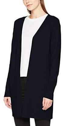 Vero Moda Women's Vmjulie Ls Coatigan Cardigan, Light Grey Melange, (Size: Medium)