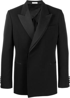 Alexander McQueen Concealed Fastening Tuxedo Blazer