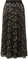 P.A.R.O.S.H. floral print pleated skirt - women - Polyester - S