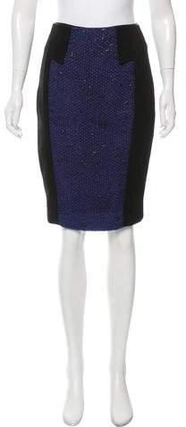 Prabal Gurung Patterned Knee-Length Skirt
