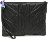 Aimee Kestenberg Hamilton Quilted Zip Leather Clutch