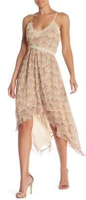Paige Aubrey High/Low Maxi Dress