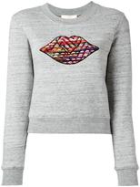 See by Chloe boucle bisous sweatshirt - women - Cotton/Acrylic/Polyester/Virgin Wool - L
