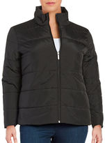 MICHAEL Michael Kors Plus Short Quilted Jacket