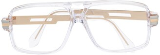 Cazal Rectangular Frame Glasses