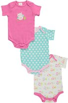 "Crib Mates Cribmates Baby Girls' ""Winking Owl"" 3-Pack Bodysuits"