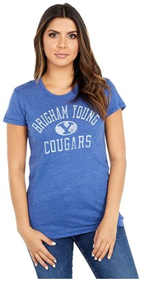 Champion College BYU Cougars Keepsake Tee (Vintage Royal) Women's T Shirt
