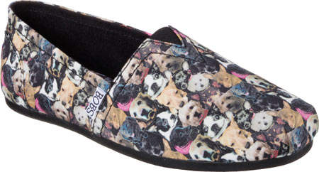 Skechers Bobs At Home Ladies Slippers | Memory foam | Faux