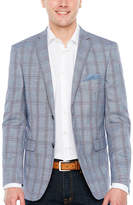 U.S. Polo Assn. Slim Fit Woven Plaid Sport Coat