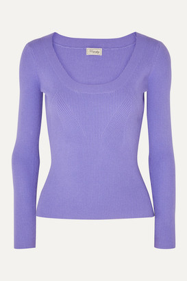 Temperley London Joan Knitted Sweater - Lilac