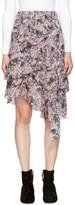 Etoile Isabel Marant Purple Jeezon Miniskirt
