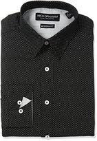 Nick Graham Men's Dot Cotton Dress Shirt