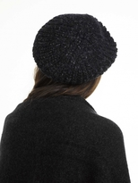 White + Warren Alpaca Beret