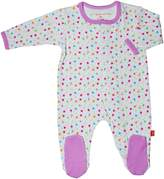 Magnificent Baby Girl's Stars Footie