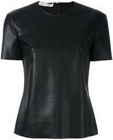 Cédric Charlier round neck T-shirt - women - Polyester - 40