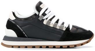 Brunello Cucinelli Suede Panel Sneakers