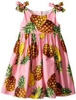 Dolce & Gabbana Tropical City Poplin Dress Girl's Dress