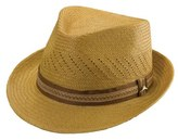 Tommy Bahama Perforated Panama Straw Fedora