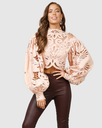 Ministry Of Style Boudoir Lace Top